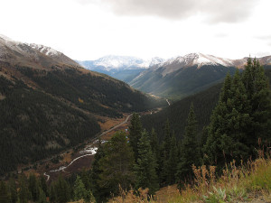 Road East of Independence Pass