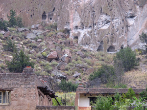 Bandelier Pueblo Cliff Dwellings
